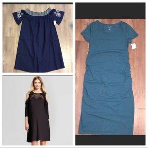 Bundle of three maternity dresses xxl